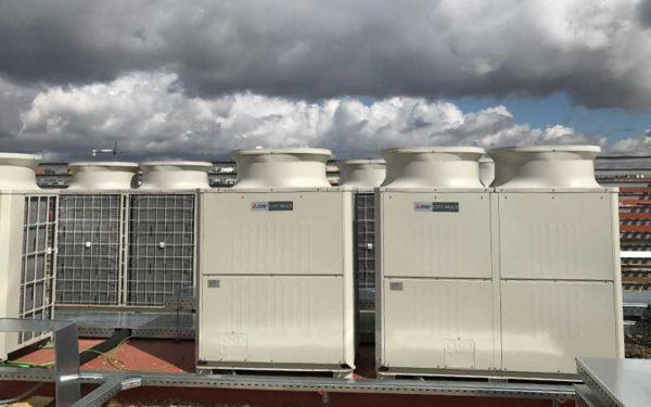 Cambio sistema de climatización Julián Camarillo 29
