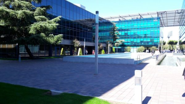 Sustitución a Led de la iluminación exterior del Parque Empresarial San Fernando Business Park